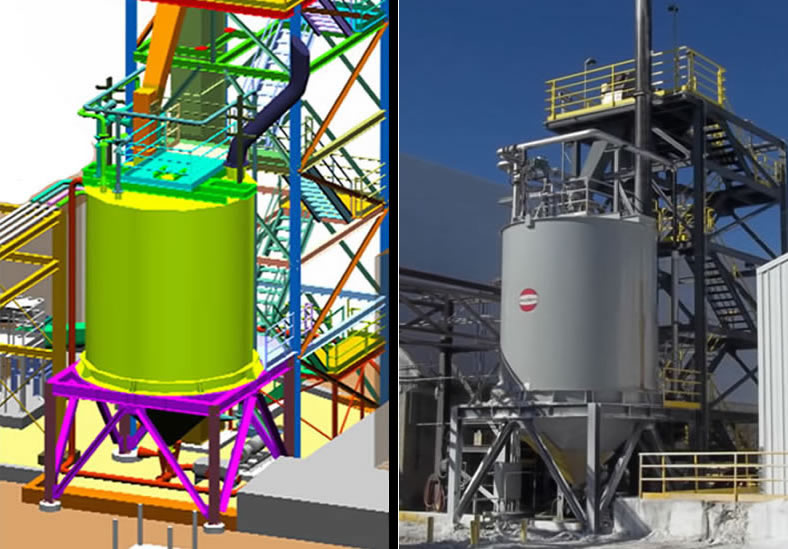3D Industrial Construction Modeling