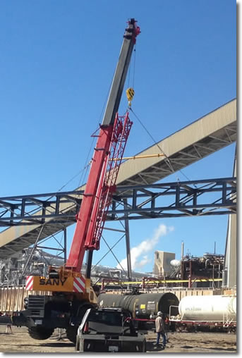 Industrial Crane Services and Rentals - Long Beach